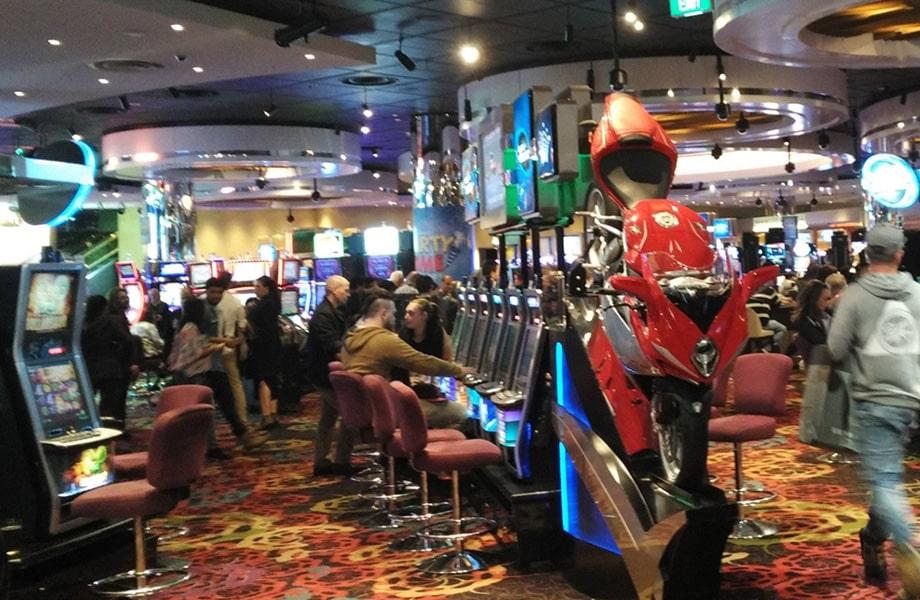 清潔感があり遊びやすいアメリカンスタイルのカジノ