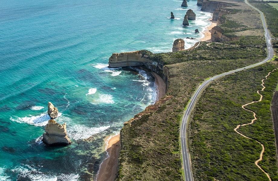 世界で最も美しい海岸道路「グレート・オーシャン・ロード」