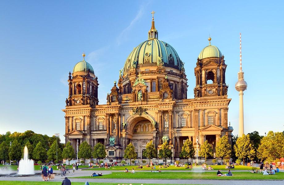 ベルリンを象徴する建物の一つ「ベルリン大聖堂」