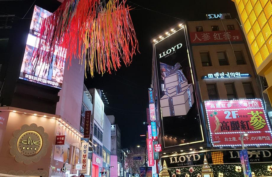 ソウル最大の巨大ショッピング都市「明洞」