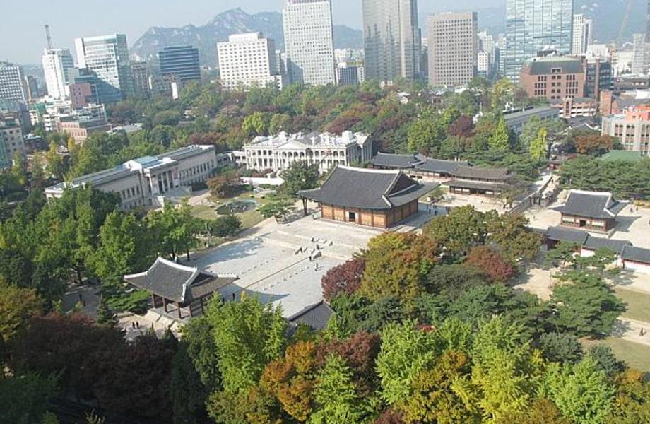 ソウルの街並みを楽しめる「貞洞展望台」