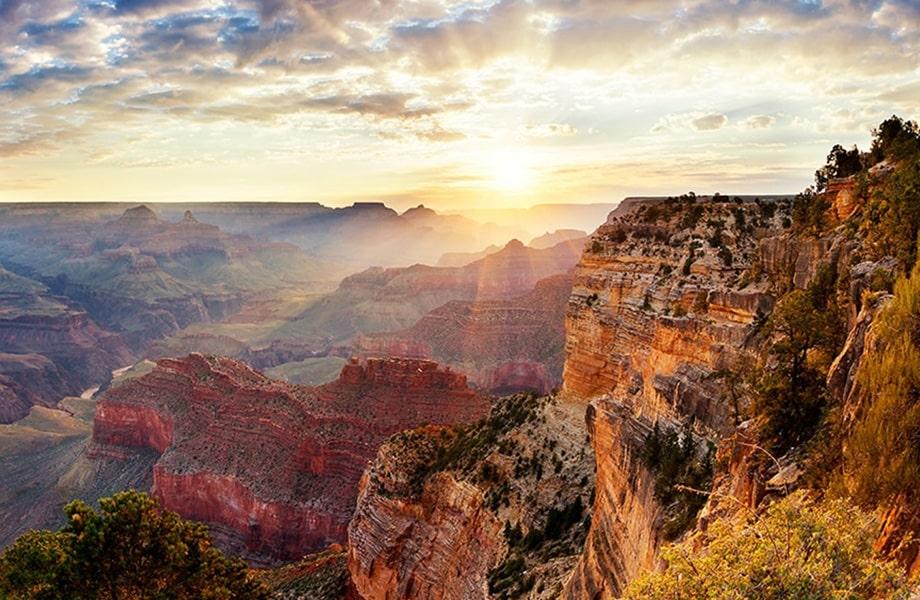 アメリカも代表する有名な世界遺産「グランドキャニオン」