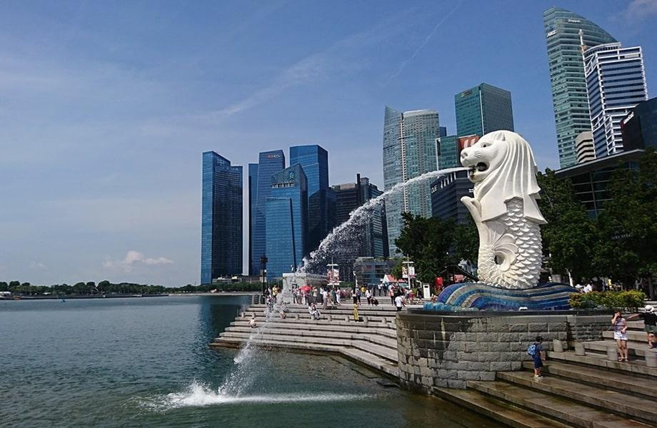 シンガポールの象徴がある「マーライオンパーク」